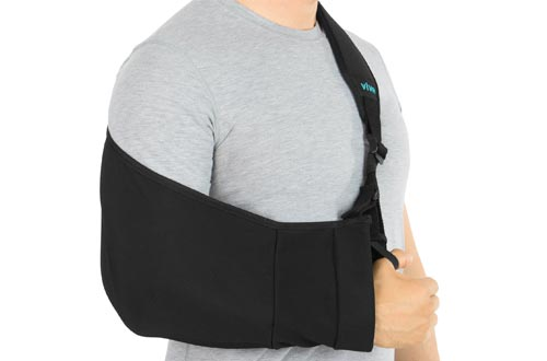 Vive Arm Slings - Medical Support Strap for Broken, Fractured Bones