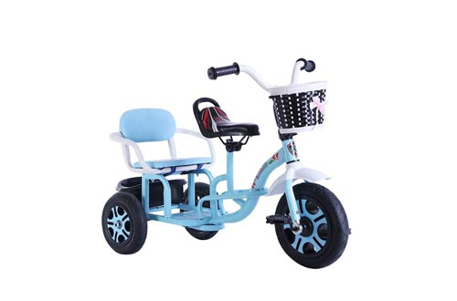GY Children's Tricycle Children's Tricycle Tandem Bicycle Baby Double Seat Infant Stroller Can Carry People