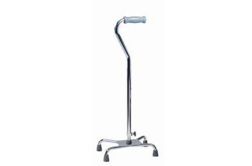 MediChoice Quad Canes, Aluminum, 300-lbs Capacity, 12x8 Inch Base, Large, 2867CANE618 (1 Each)