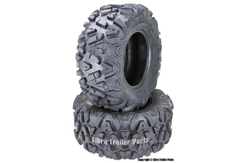 2 New ATV/UTV Tires 26x11-12 26x11-12 6PR 10278