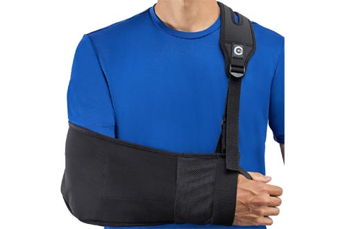 Medical Arm Slings with Split Strap Technology, Maximum Comfort, Ergonomic Design by Custom SLR