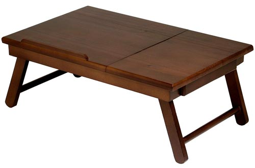 Winsome Wood 94623 Alden Bed Trays Walnut (Renewed)