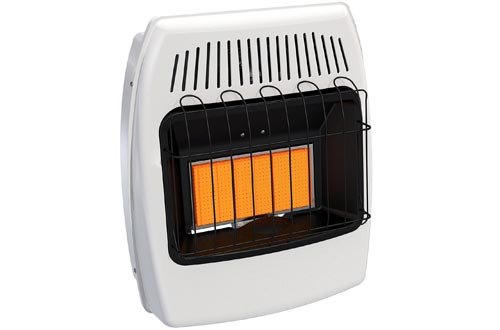 Dyna-Glo IR18NMDG-1 18,000 BTU Natural Gas Infrared Vent Free Wall Heaters