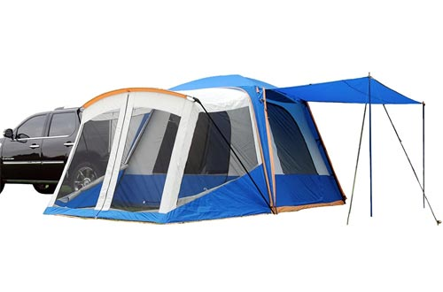 Sportz SUV Blue/Grey Tents with Screen Room (10 x10 x7.25-Feet)