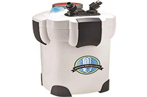Aquatop CF Series Canister Filters (370 and 525 GPH with UV)