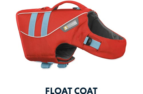 RUFFWEAR - Float Coat Dog Life Jackets for Swimming, Adjustable and Reflective