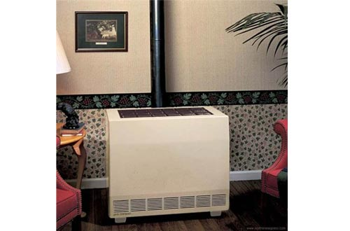 Empire Closed Front Room Heaters W/Blower Natural Gas 50000 BTU