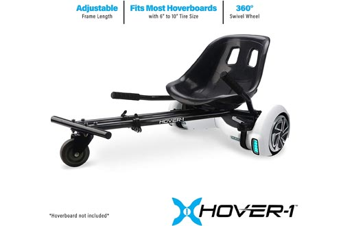 HOVER-1 Buggy Attachment for Transforming Hoverboard Scooter into Go-Karts