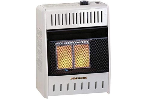 ProCom Natural Ventless Infrared Space Gas Heaters-10,000, Model# MN100HPA, 10,000 BTU