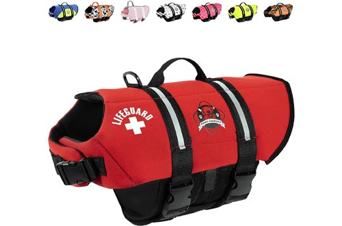Paws Aboard Dog Life Jackets Vest for Swimming and Boating