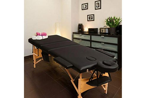 """Fold Portable Massage Tables with disposable tables covers treatment physical therapy 84""""L 3"""