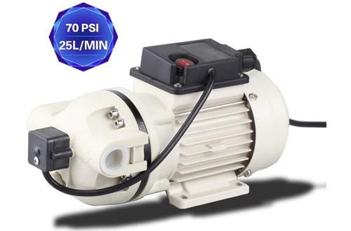 TDRFORCE Industrial Pumps Water Diaphragm Pumps Electric Self Priming Dispensing Pumps 115VAC 25L/Min(6.8GPM) 70PSI for Irrigation Liquid Transfer