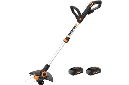"WORX WG163 GT 3.0 20V PowerShare 12"" Cordless String Trimmers & Edger, 12in"