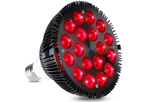 HIGROW 36W All Deep Red 660nm LED Grow Light Bulbs for Indoor Plants Flowering Bloom and Fruiting, Grow Spectrum Enhancement