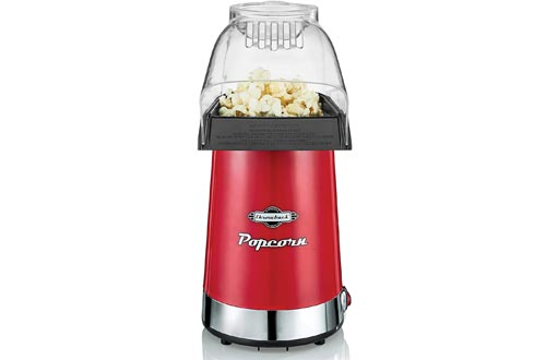 Throwback (60061) Poppers Hot Air Popcorn Maker, One Size, Red