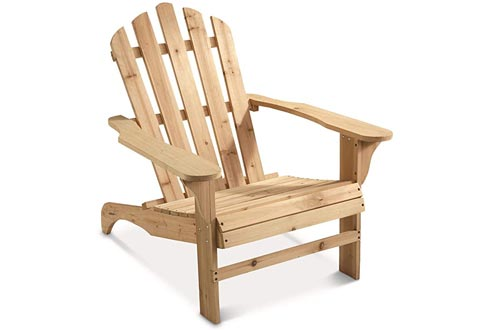 CASTLECREEK Oversized Adirondack Chairs, 400-lb. Capacity
