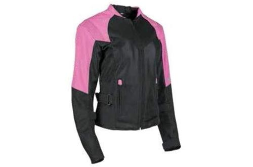 Speed and Strength Sinfully Sweet Mesh Women's Street Motorcycle Jackets - Pink/Black/Large
