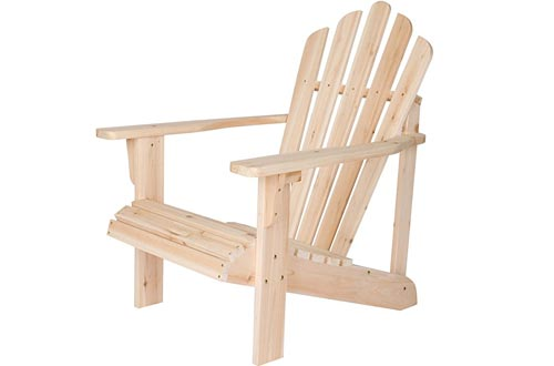 Shine Company Inc. 4611N Westport Adirondack Chairs, Natural
