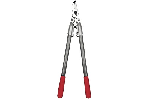 Felco (459067) 200 A Straight Cutting Head Expert Loppers with Aluminum Tubes, 24-In, Silver/red