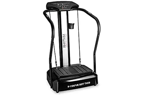 LifePro Rhythm Viberation Plate Machines - Professional Whole Body Vibration Platform for Home Fitness - Viberation Excersize Machines for Awesome Cardio Workout & Weight Loss