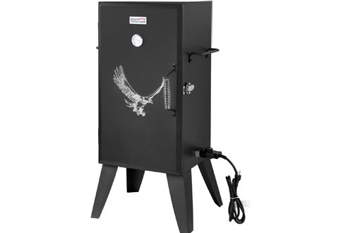 Royal Gourmet SE2801 Electric Smokers with Adjustable Temperature Control, Black