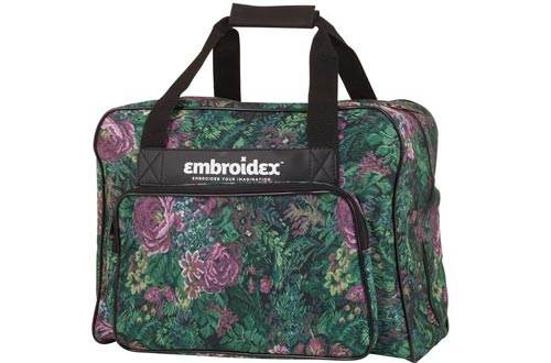 Floral Sewing Machine Carrying Cases - Carry Tote/Bag Universal