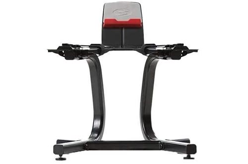 Bowflex SelectTech Dumbbell Stand with Media Racks