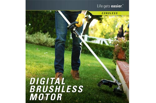 Greenworks PRO 16-Inch 80V Cordless String Trimmers (Attachment Capable), Battery Not Included GST80320