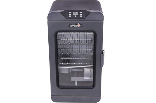 Char-Broil 19202101 Deluxe Black Digital Electric Smokers, 725 Square Inch