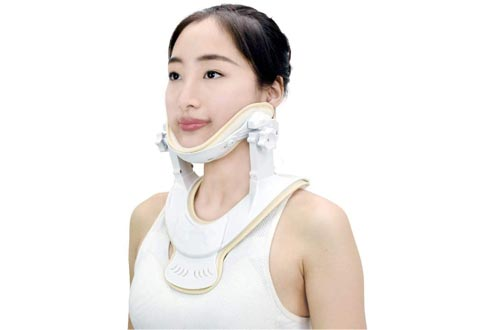 "Cervical Traction Devices - Home Care Neck Traction Devices to Relieve Pain and Compression, Traction Anytime and Anywhere (L/XL (Neck Circumference>14""))"