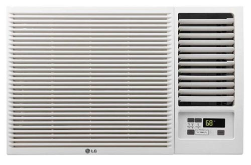 LG 12,000 BTU 230V Window-Mounted AIR Conditioners with 11,200 BTU Heat Function