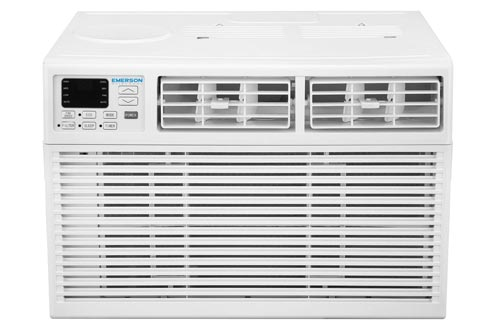 Emerson Quiet Kool 10,000 BTU 115V Window Air Conditioners with Remote Control, EARC10RE1, White