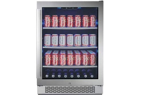 """Avallon ABR241SGRH 140 Can 24"""" Built-In Beverage Coolers - Right Hinge"""