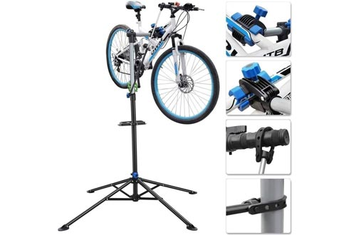 """Wichai Shop Bike repair stands adjustable height 41"""" to 75"""" mechanic maintenance cycle bicycle workstand rack"""