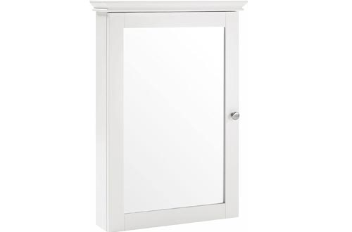 Crosley Furniture CF7005-WH Bathroom Cabinets, White