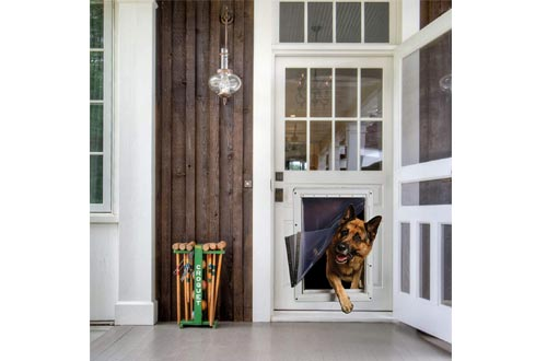 Ideal Pet Products Designer Series Ruff-Weather Pet Doors with Telescoping Frame