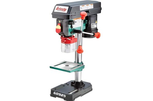 "Grizzly Industrial G0925 - 8"" Baby Benchtop Drill Presses"