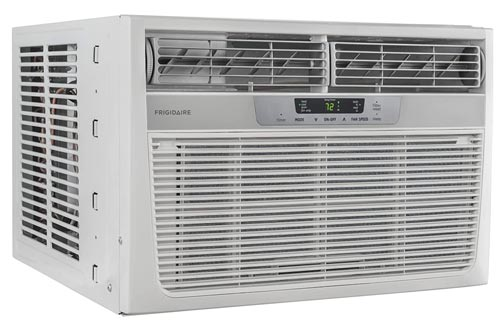 Frigidaire 8,000 BTU Window-Mounted Room Air Conditioners with Supplemental Heat