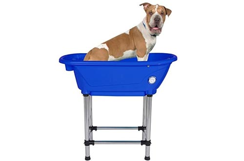 "Flying Pig Pet Dog Cat Portable Bath Tubs (Royal, 37.5""x19.5""x35.5"")"
