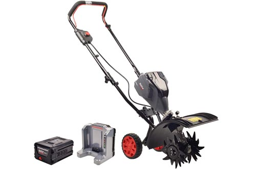 Powerworks TL60L2510PW 60V Brushless Tillers, 2.5Ah Battery and Charger Included
