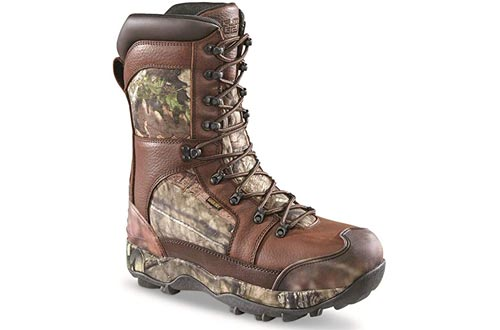 Guide Gear Monolithic Extreme Waterproof Insulated Hunting Boots, 2,400-gram Thinsulate Ultra