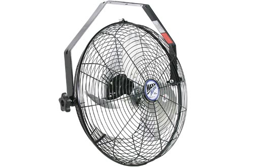 """Maxx Air Wall Mount Fans, Commercial Grade for Patio, Garage, Shop, Easy Operation and Powerful CFM (18"""" Residential Wall Mount)"""