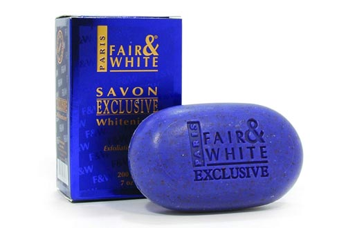 Fair & White Exclusive Whitenizer Exfoliating Soaps, 200g / 7oz