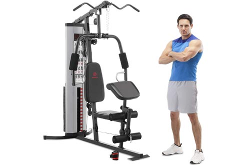 Marcy MWM-988 Multifunction Steel Home Gyms 150lb Weight Stack Machine