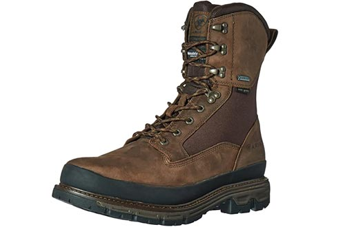 """Ariat Men's Conquest Round Toe 8"""" GTX 400g Hunting Boots"""