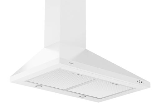 Ancona WPPW430 Wall-Mounted Classic Pyramid Style Convertible Range Hoods, 30-Inch, White