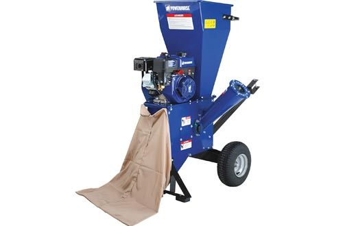 Powerhorse Chippers/Shredder - 212cc OHV Engine, 3in. Chipping Capacity