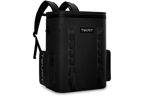 TOURIT Leak-Proof Soft Sided Coolers Backpack Waterproof Insulated Backpack Coolers Bag Large Capacity Backpack with Coolers for Men Women to Picnics, Camping, Hiking or Beach, 36 Cans