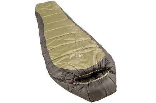 Coleman 0°F Mummy Sleeping Bags for Big and Tall Adults | North Rim Cold-Weather Sleeping Bags