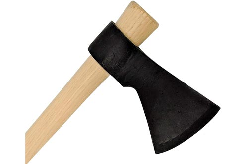 """Light Throwing Tomahawk - Mouse Hawk Designed for Young Thrower - 16"""" Hand Forged Small Throwing Hatchet"""